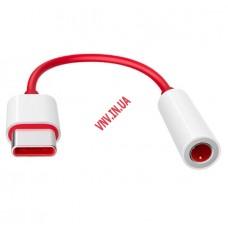 Переходник для Наушников OnePlus с 3.5mm AUX Audio Jack to Type C