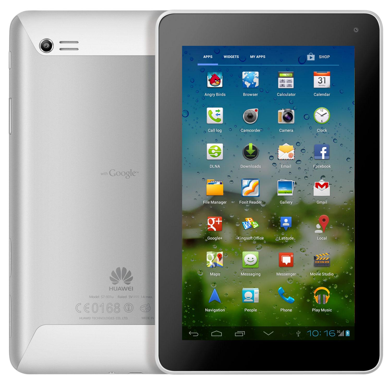 Обзор планшета MediaPad 7