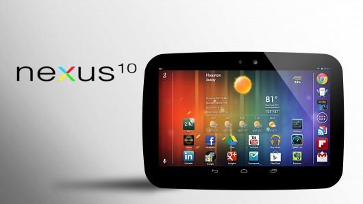 Планшет Google Nexus 10, обзор, характеристики