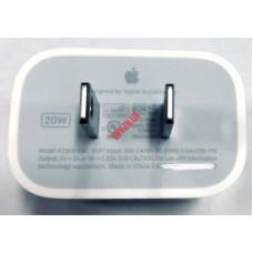 Зарядка iPhone 12 на 9V 2.22A/5V 3A 20W USB Type C модель A2305/A2247