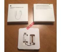 Кабель Переходник Apple для Наушников с 3.5mm AUX Audio Jack to Lightning для iPhone 7, 8, X, 11