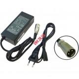 Зарядное Устройство для Электровелосипеда 24V 29.4V 1.5A-2A, 3A, 4A, 6A 3 pin XLR HP1202L2