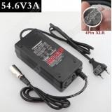 Зарядное Устройство для Электровелосипеда и Скутера на 48V-54.6V и 3A, 4A, 5A с разъёмом 4 pin XLR
