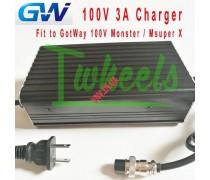 Зарядное Устройство Моноколеса GotWay Monster, MSuper X MSX, Nikola Plus на 100.8V и 3A