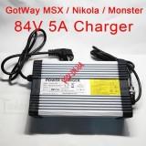 Зарядка Моноколеса GotWay MSuper X, Monster, Nikola 84V 4A-5A