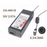 Блок Питания LG NP8540, NP8740 18V 2.67A 48W модель DA-48A18, DA-48F19, DA-48G19