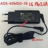Зарядное Устройство LG 19V 2.1A 40W 4.0*1.7 мм модель ADS-40MSG-19 19040GPK, EAY63070101