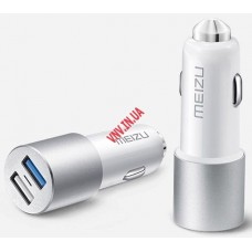 Автомобильная Зарядка Meizu 5V 2.4A 3.4A Dual Port