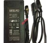 Зарядное Устройство Dualtron Raptor, Dualtron 2, Ultra 67.2V 1.75A 2A модель XVE-6720175, XVE-6720200