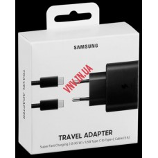 EP-TA845 Зарядка Samsung Galaxy Note 10 Plus, A91, Book S 45W Super Fast Charging 2.0