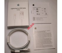 USB кабель для зарядки iPhone 5, iPad 4, mini, iPod touch 5, iPod Nano 7 8 pin lightning (оригинал)